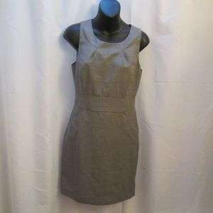 J. Crew Suiting Back-Zip Lined Sleeveless Dress